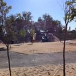 parque publico infantil rivas toboganes