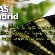 Web con rutas y sendas por Madrid