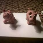 cerdos de plastilina 1