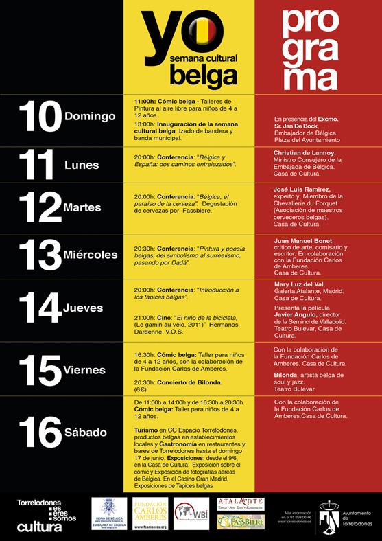 Semana cultural belga en torrelodones con actividades para ni os mi plan con hijos - La casa del libro torrelodones ...