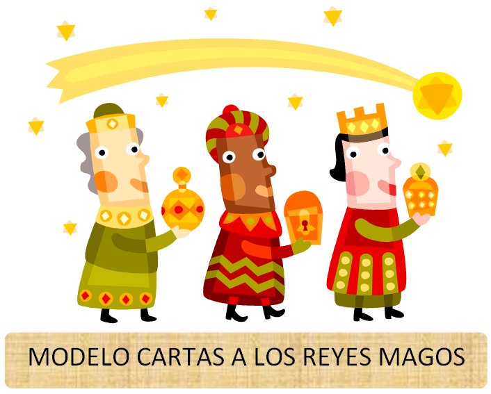 modelo de carta para reyes magos