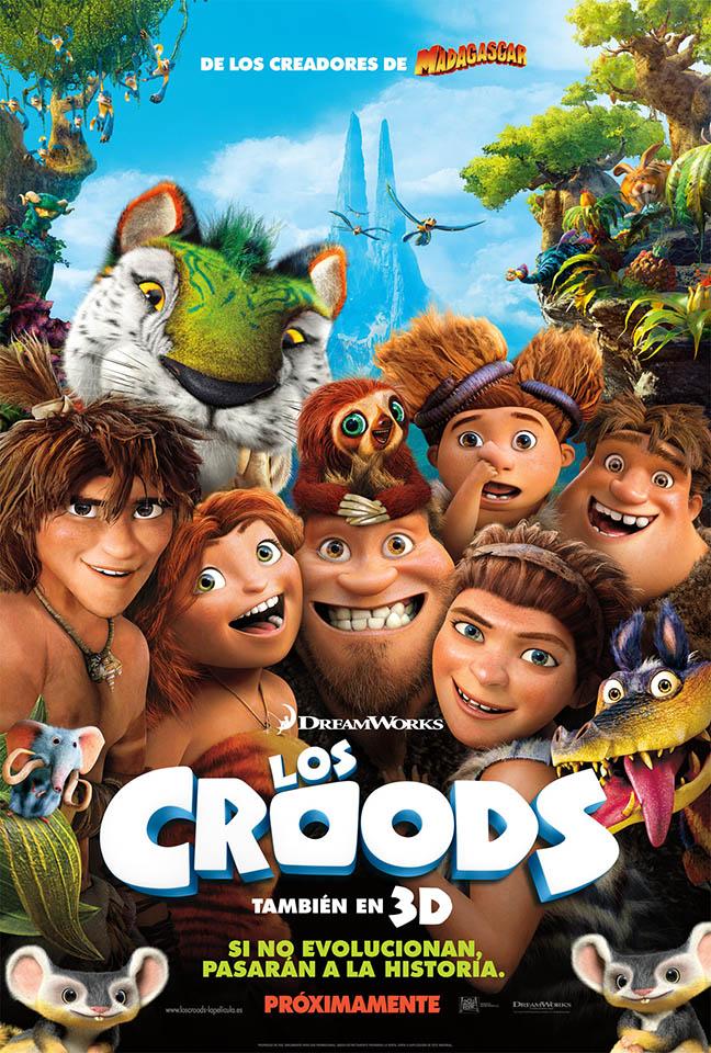 """Películas Infantiles: """"Los Croods"""""""