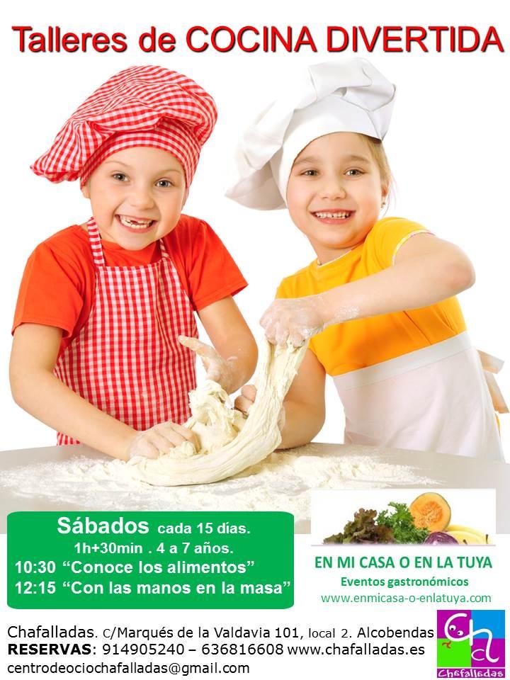 Talleres de cocina para ni os en alcobendas cocina con ni os for Taller cocina ninos