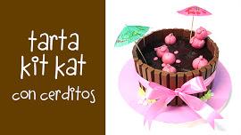 Curso barato online para hacer tarta kit kat
