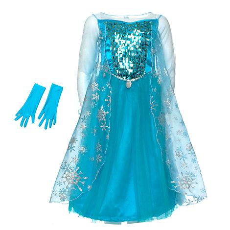 2a66e7c32  strong Disfraz de princesa para niña de Elsa de Frozen  strong