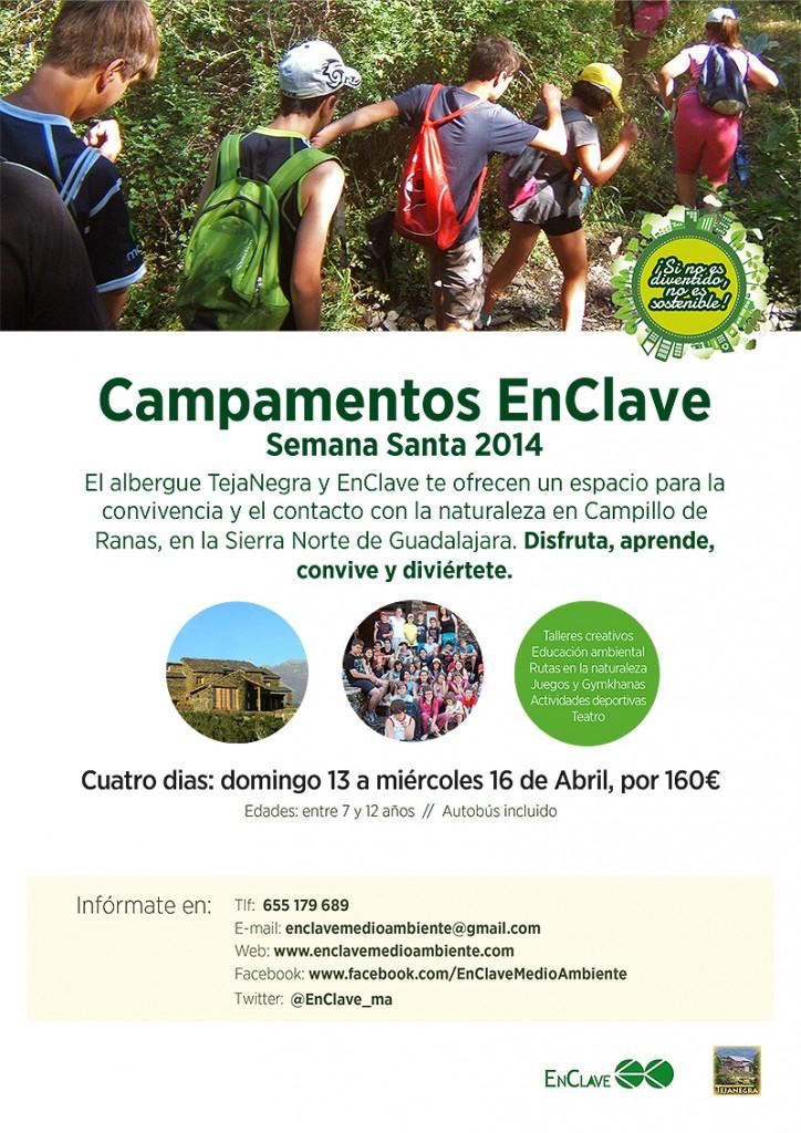 Campamento de Educación Ambiental en Semana Santa con Enclave