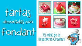 curso barato online decorar tartas con fondant