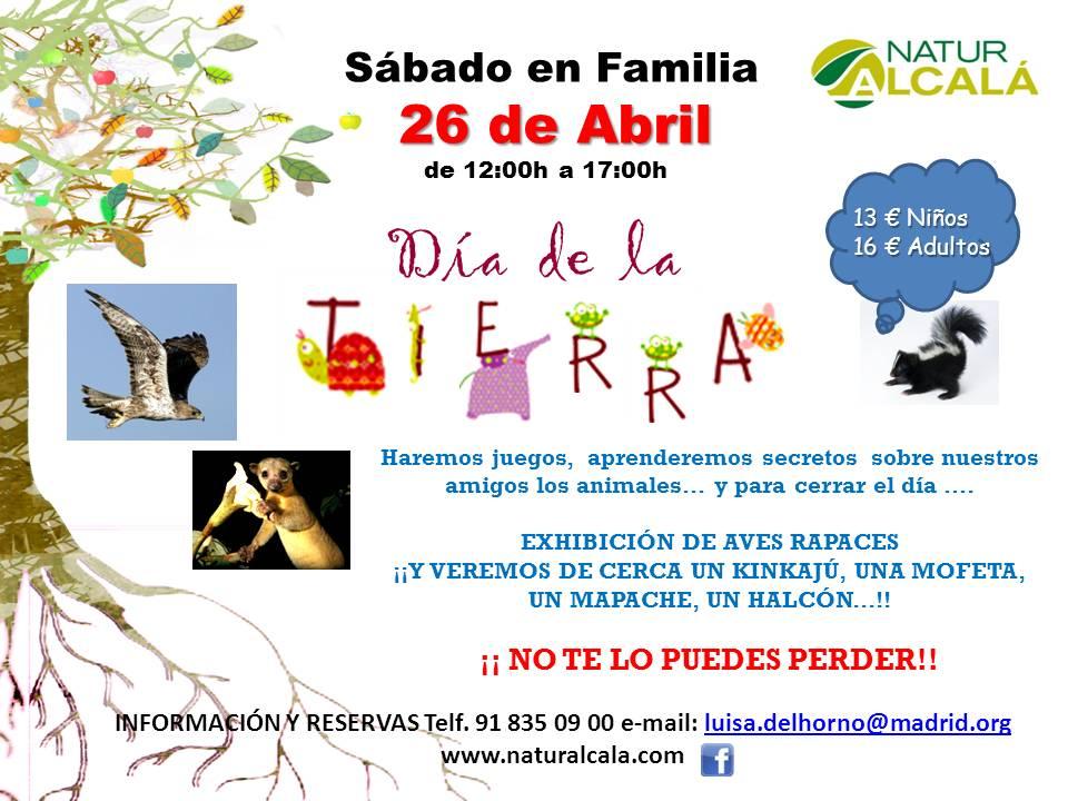 Día de la Tierra en familia en Alcalá de Henares