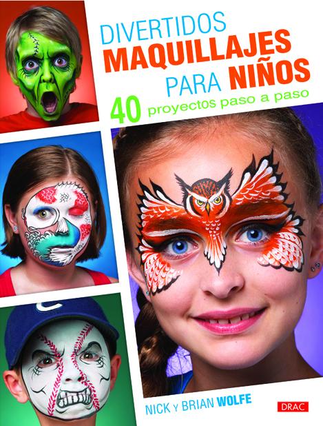 Libro divertidos maquillajes para niños