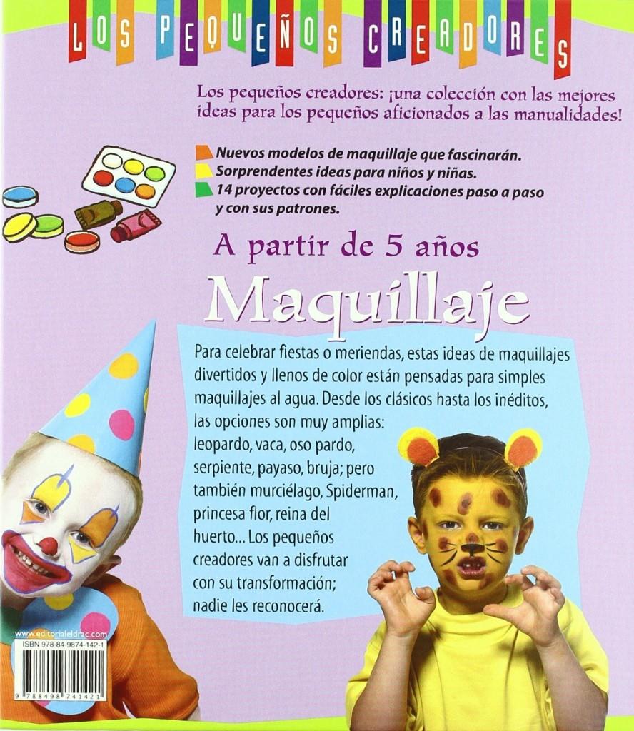 libros maquillaje infantil a partir de 5 anos los pequenos creadores 1