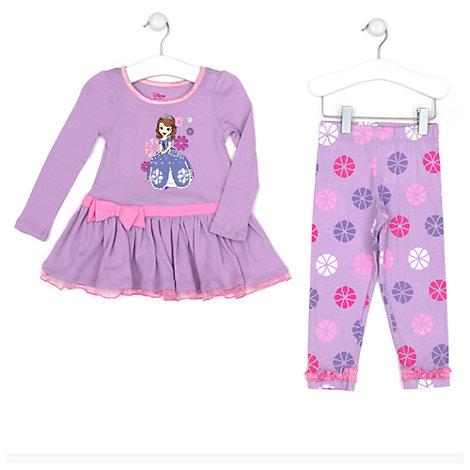 02a893d800 pijama infantil para nina en invierno de la princesa sofia