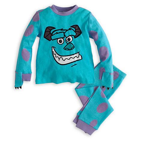 d29e0672e5 pijama infantil para nino en invierno de monstruos sa sulley