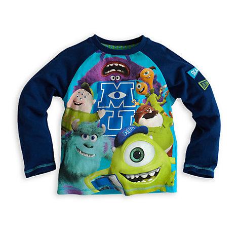 8c83d60c36 pijama infantil para nino en invierno de monstruos university