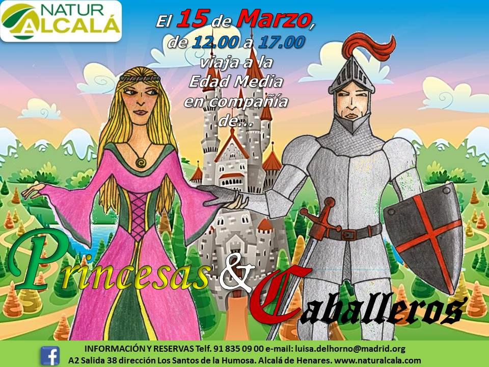 torneo medieval de princesas y caballeros en alcalá de henares