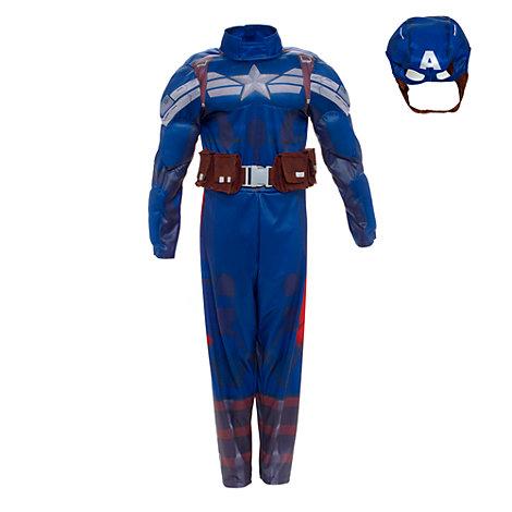 disfraz super héroe Capitán América para niño 1