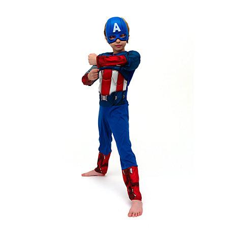 disfraz superhéroe Capitán América para niño 2