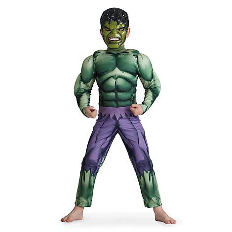 disfraz superhéroe Hulk para niño