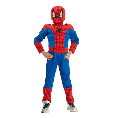 disfraz superhéroe Spiderman para niño 1