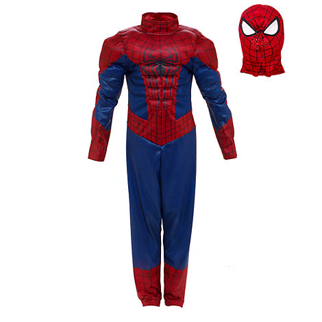 disfraz superhéroe Spiderman para niño 2