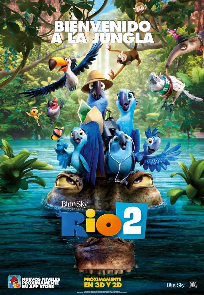 película  para niños Río 2