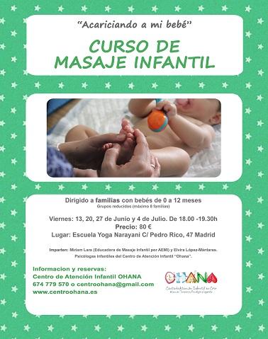 curso masaje infantil para bebes madrid