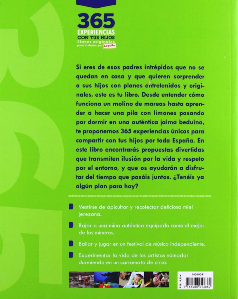 libro planes originales con niños para viajar por España