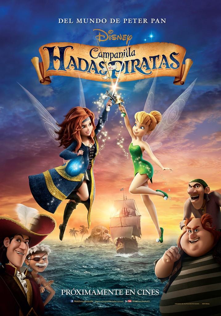 películas infantiles campanilla hadas y piratas