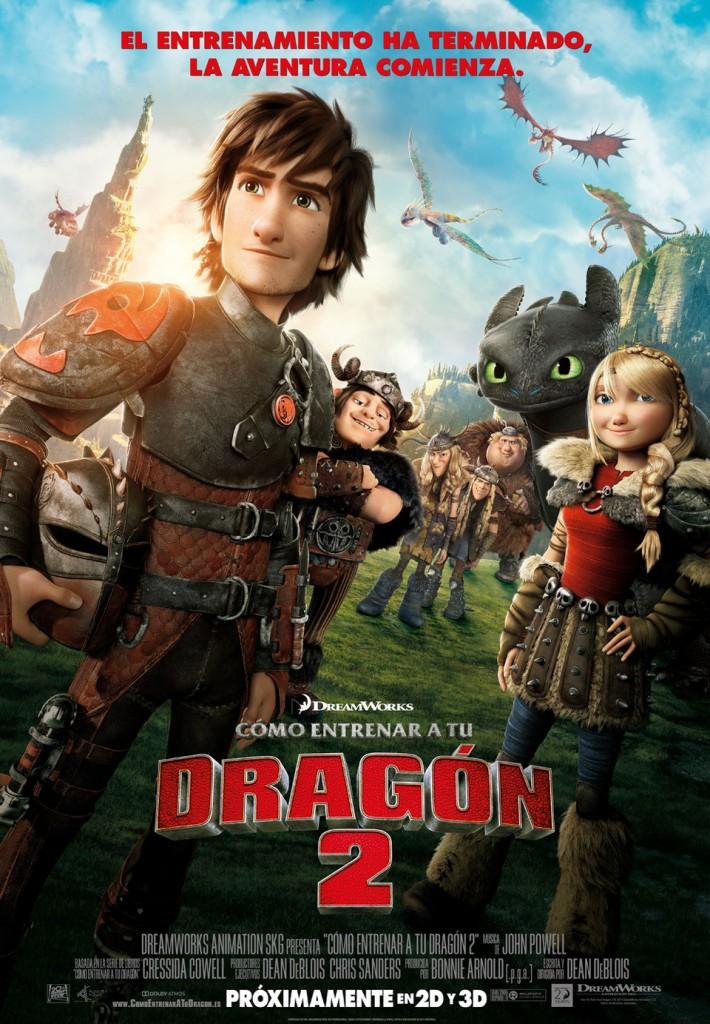 peliculas infantiles como entrenar a tu dragon