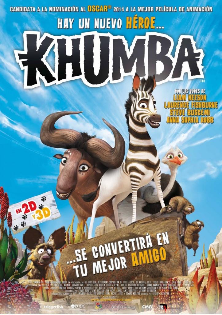 película para niños animales khumba