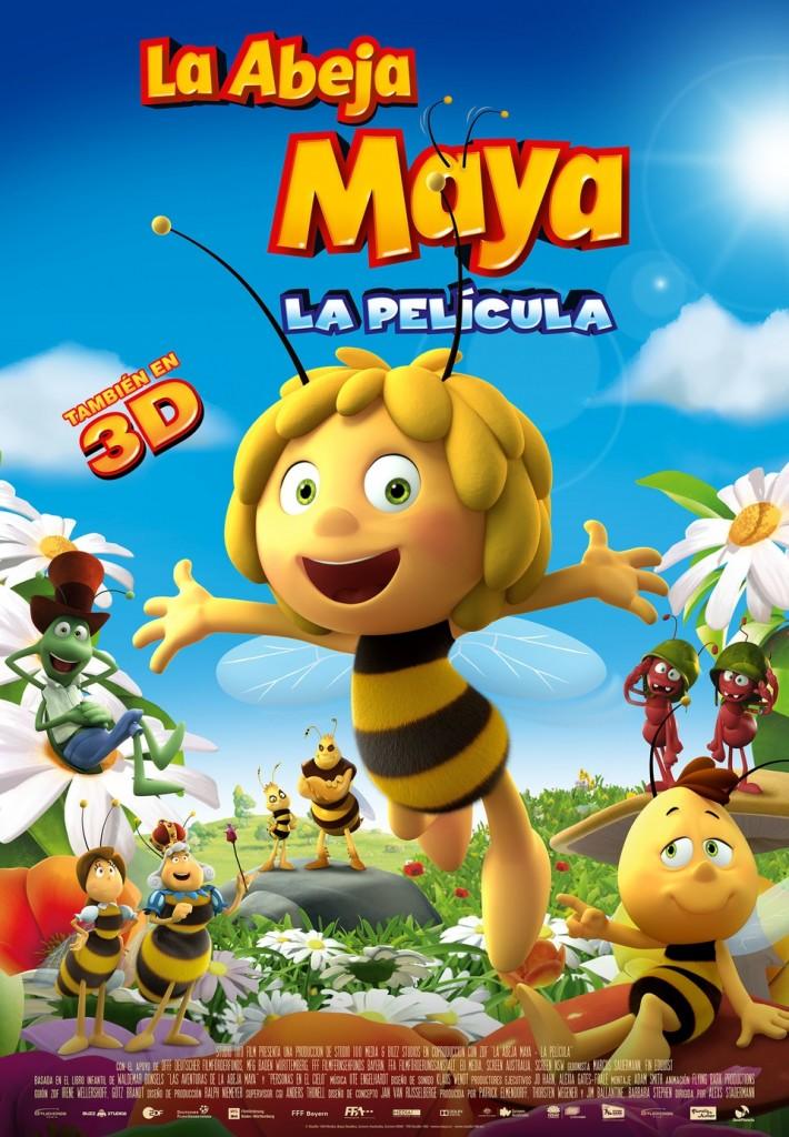 película de la abeja maya