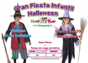 fiesta en halloween para niños en alcalá 2014