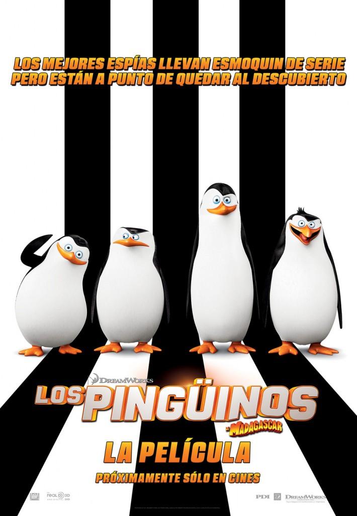 películas para niños pingüinos madagascar