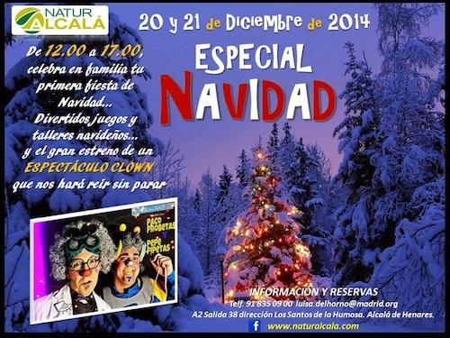 Talleres navideños en Alcalá