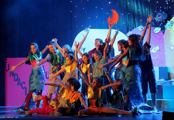 escuela de teatro para ninos en teatro arlequin