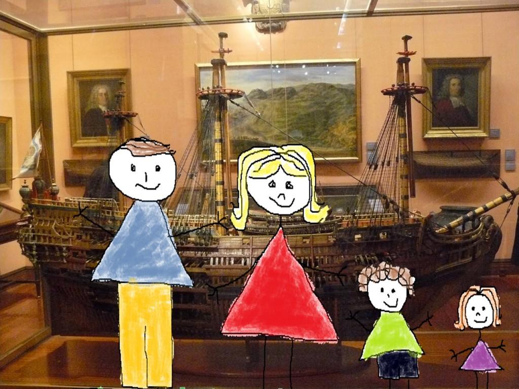 museo naval con niños