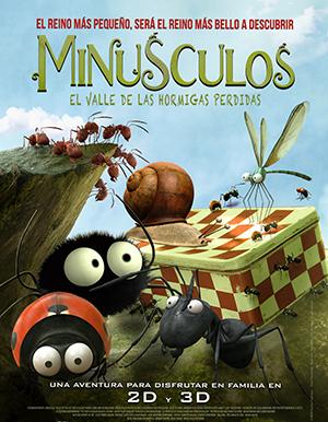 pelicula infantil minusculos el valle de las hormigas