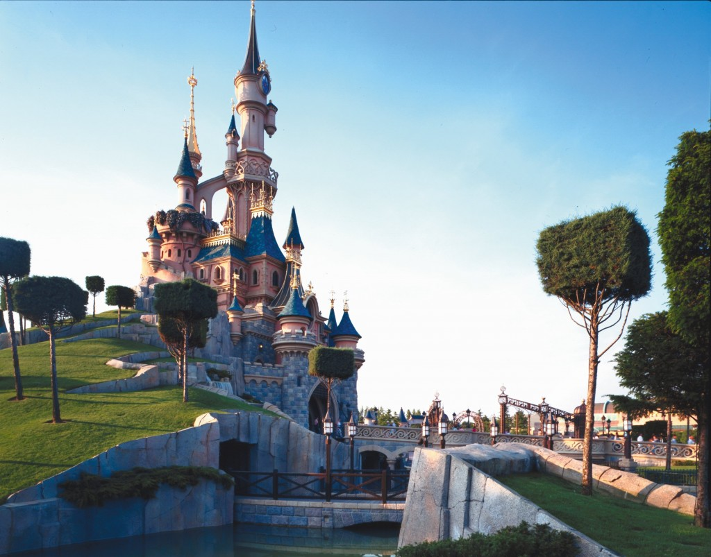 castillo disneyland paris
