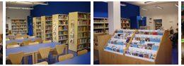 Bibliotecas en el distrito de Chamberí de Madrid