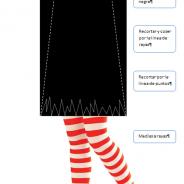 Disfraz de bruja casero para niños en halloween