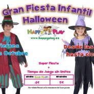 Halloween para niños en Alcalá con Happy Play La Garena