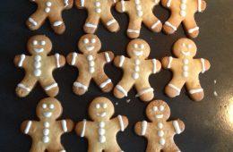 Galletas de muñecos de Navidad