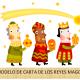 Carta personalizada de los Reyes Magos para Reyes