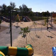 """Parque público infantil """"Gran Tobogán"""" en Rivas"""