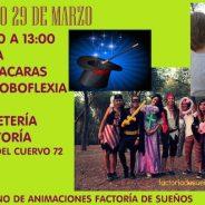 Pintacaras, globoflexia y magia para niños gratis en Hortaleza