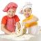 """Taller de cocina """"Tulipas rellenas de yogur y plátano decoradas con fondant"""""""